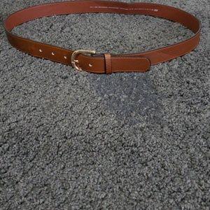 H & M brown belt women size medium